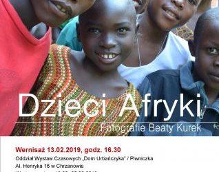 """Wernisaż wystawy """"Dzieci Afryki"""""""