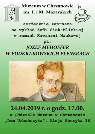 """Kawiarnia naukowa """"Józef Mehoffer wpodkrakowskich plenerach"""""""