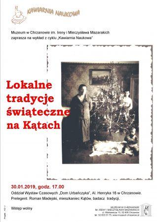 """Kawiarnia Naukowa: """"Lokalne tradycje świąteczne naKątach"""""""
