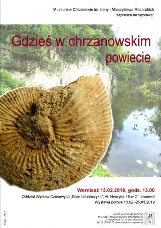 """Wystawa """"Gdzieś wchrzanowskim powiecie"""""""