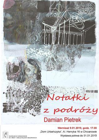 """Wystawa: """"Notatki zpodróży"""""""